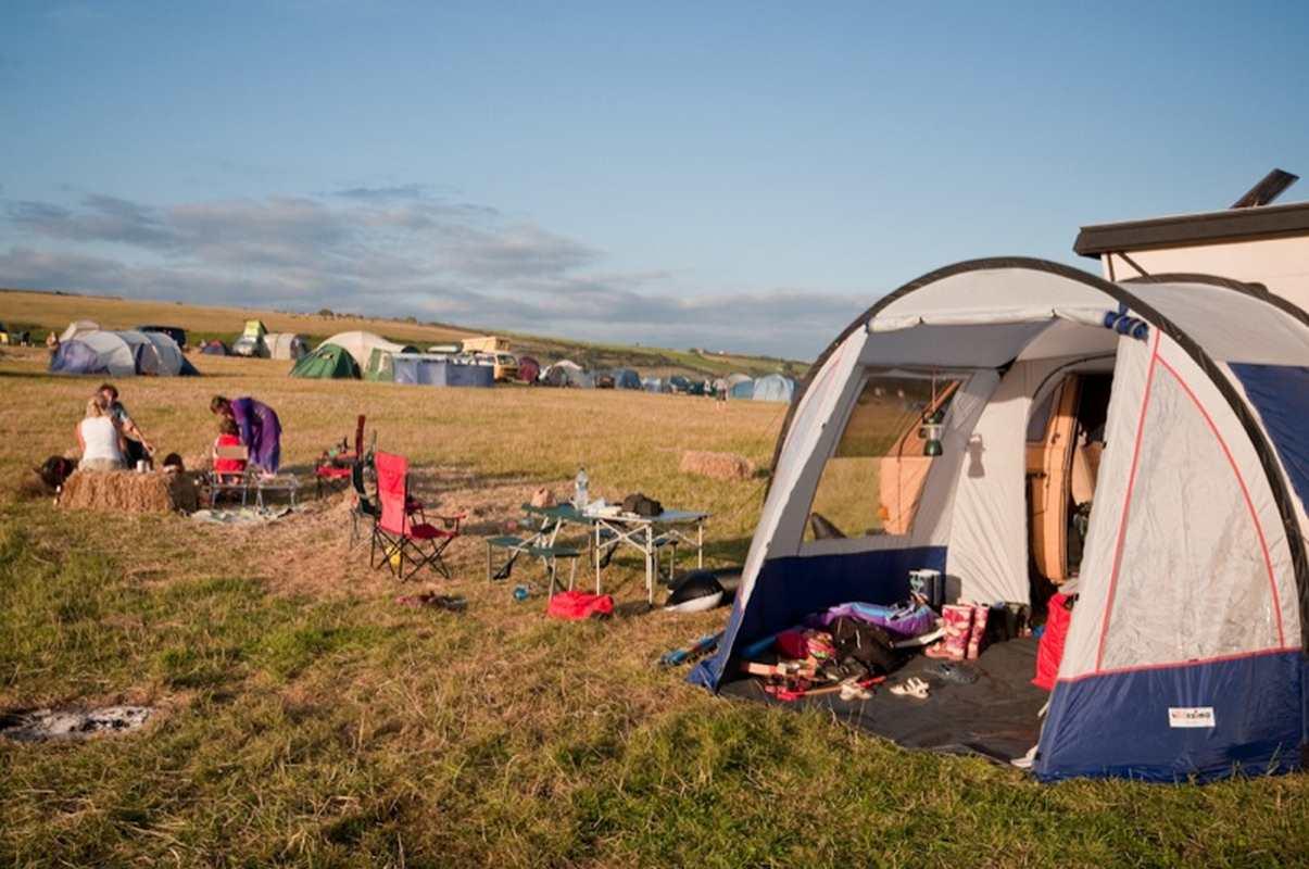 Camper en fin septembre