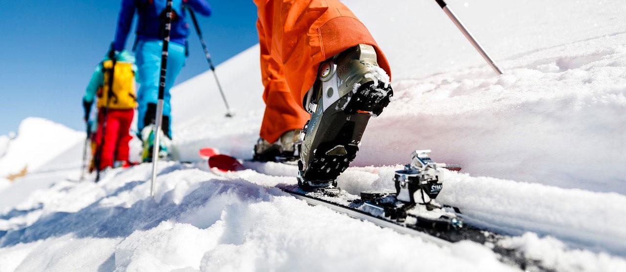 ski randonnée neige